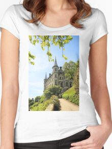 Dunrobin Castle Women's Fitted Scoop T-Shirt