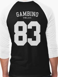 Gambino Jersey Men's Baseball ¾ T-Shirt