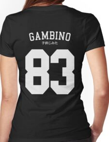 Gambino Jersey Womens Fitted T-Shirt