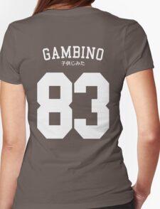 Gambino Jersey Womens Fitted T-Shirt