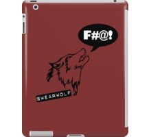Swearwolf iPad Case/Skin
