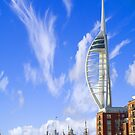 PORTSMOUTH HARBOUR UK by kfbphoto