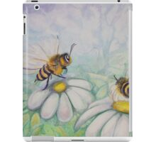 Bees and Daisies I love you iPad Case/Skin