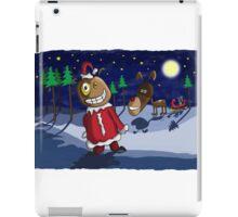 Odd Santa & Bob Reindeer iPad Case/Skin