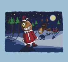 Odd Santa & Bob Reindeer Kids Tee