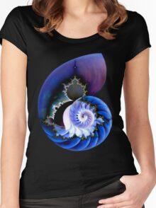 Mandel's Spiral Women's Fitted Scoop T-Shirt