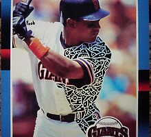 277 - Candy Maldonado by Foob's Baseball Cards