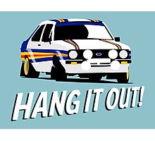 Fortitude's - Ford Escort Mark II 'Hang It Out' Photographic Print