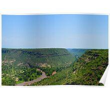 Ethiopia's Awash River Gorge Poster