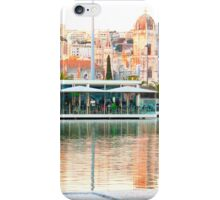 Sunset. lake by the river. mosteiro dos jerónimos iPhone Case/Skin
