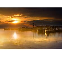 Lakes Entrance Sunset Photographic Print