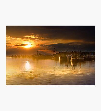 Lakes Entrance Sunset Photographic Print