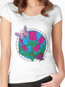 Mosaic Women's Fitted Scoop T-Shirt