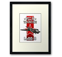 War Thunder LaGG-3 Framed Print