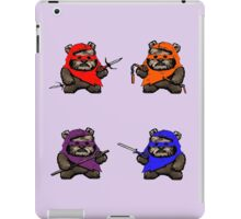 TEENAGE MUTANT NINJA EWOKS- battle iPad Case/Skin