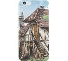 Vintage View of Fable House iPhone Case/Skin