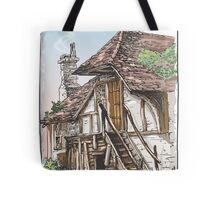 Vintage View of Fable House Tote Bag
