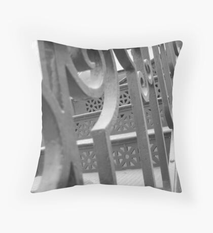 Stairway perceptions Throw Pillow