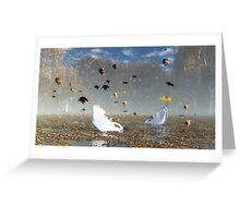 Le lac des cygnes / Swan Lake Greeting Card