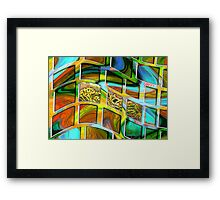 Waking Up in an Unfamiliar Place Framed Print