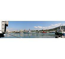 Málaga desde su puerto (panorámica) Photographic Print