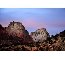 Great White Throne, Zion National Park Photographic Print