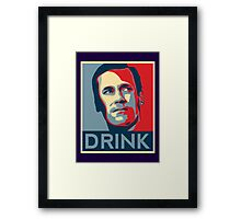 "Don ""Drink"" Poster Framed Print"
