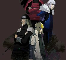 Leaders of the Hidden Leaf by AlexKramer