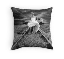 JUST ELOPED! Throw Pillow
