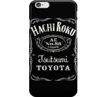 Fortitude's Toyota Corolla / Levin / Trueno AE86 Hachi Roku 'Drink & Drive' T-Shirt iPhone Case/Skin