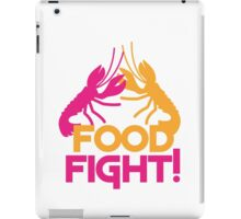 Food Fight with lobsters iPad Case/Skin