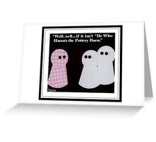 """Haints"" - Pottery Barn Greeting Card"