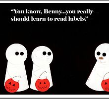 """'Haints"""" - Warning Labels by ComicMom"""