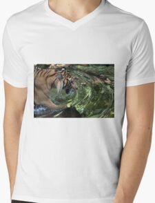 Ready to Pounce Mens V-Neck T-Shirt