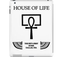 House of Life, Dallas Nome iPad Case/Skin