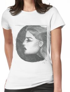 Woman with tentacles Womens Fitted T-Shirt
