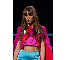 Model on the catwalk at the Clothes Show live 2014 in Birmingham Photographic Print