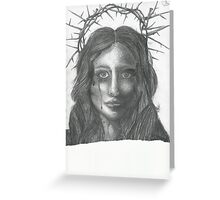 Crown of thorns Greeting Card