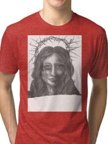 Crown of thorns Tri-blend T-Shirt
