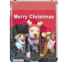 Mee Mee The Blue Nosed Reindeer iPad Case/Skin