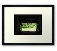 Life Out There Framed Print