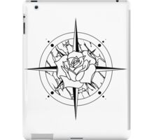Rose Compass iPad Case/Skin