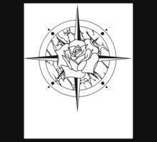 Rose Compass Kids Tee
