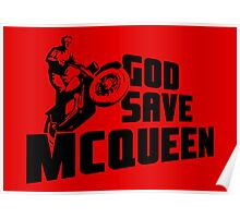 God Save McQueen Poster