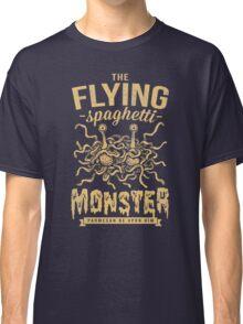 The Flying Spaghetti Monster (dark) Classic T-Shirt