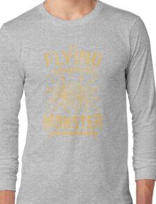 The Flying Spaghetti Monster (dark) Long Sleeve T-Shirt