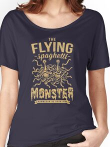 The Flying Spaghetti Monster (dark) Women's Relaxed Fit T-Shirt