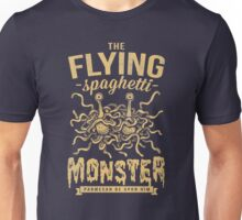 The Flying Spaghetti Monster (dark) Unisex T-Shirt