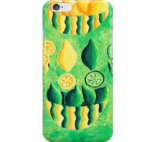 Lemons and Limes (Green) iPhone Case/Skin