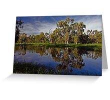 Morning Reflections Greeting Card